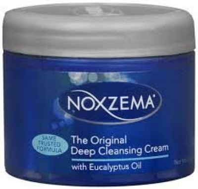 Noxzema fragrance-free exfoliating cleanser