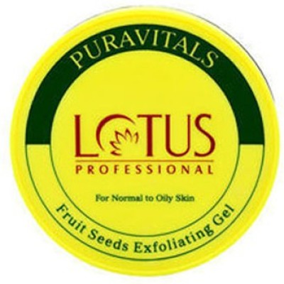 Lotus Puravitals Fruit Seeds Exfoliating Gel