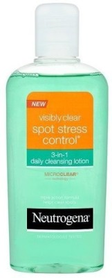 Neutrogena visibly clear spot stress control 3-in-1 daily cleansing toner