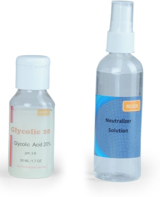 Rejsol Glycolic Acid 20% 50 ml with 100 Neutralizer