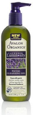 Avalon Organics Facial Gel Cleanser, Organic Lavender