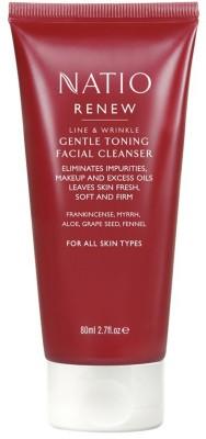 Natio Renew Line & Wrinkle Gentle Toning Facial Cleanser