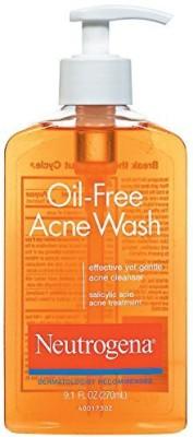 Neutrogena Oil-Free Acne Wash(Pack of 3)