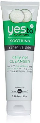 Yes to Cucumbers super detox - organic deep pore facial cleanser with activated charcoal