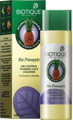 Biotique Bio Pineapple Fresh Foaming Cleansing Gel For Normal To Oily Skin 120 ml