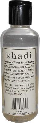 Khadi Herbal Cucumber water face cleanser