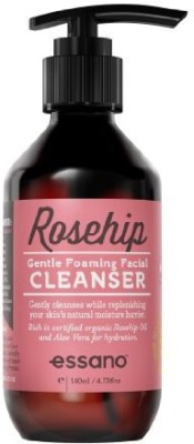 Rosehip by Essano simply balanced clear complexion coconut cleanser by - naturally foaming with aloe