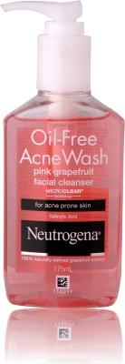 Neutrogena Oil Free Acne Wash- Pink Grapefruit Facial Cleanser