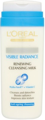 L,Oreal Paris Visible Radiance Renewing Cleansing Milk Imported