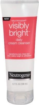 Neutrogena cream cleanser, luminous clean