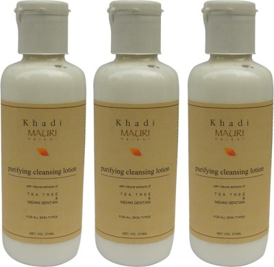 Khadimauri Cleansing Lotion- Pack of 3 - Premium Herbal