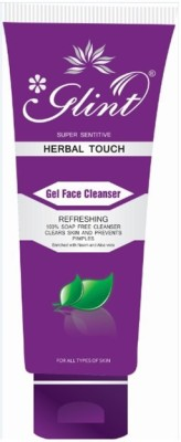 Glint Herbal Touch Gel Face Cleanser