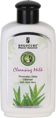 Sogo Cure Cleansing Milk With Aloe Vera 500 ml