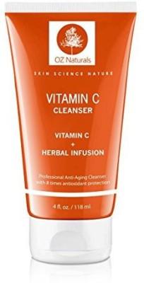 OZ Naturals glycolic acid gel cleanser bundle with tea tree oil