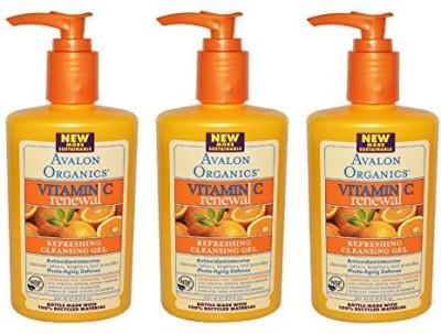 Avalon Organics refreshing cleansing gel, vitamin c