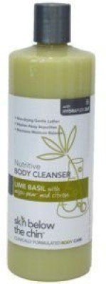 Skin Below the Chin lime basil body cleanser