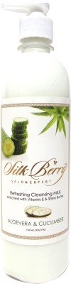 Silk Berry Aloevera and Cucumber Cleansing Milk