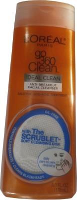 L ,Oreal Paris Go 360 Degree Clean Anti-breakout Facial Cleanser(178 ml)