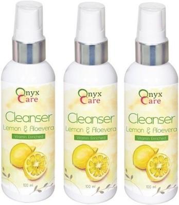 Onyx Care Lemon & Aloevera Cleanser (Set of 3)