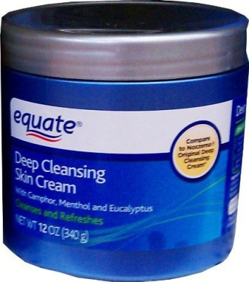 Equate deep cleansing skin cream by