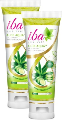 Iba Halal Care Aloe Aqua Face Wash + Makeup Remover (Pack of 2)