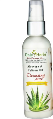 Only Herbz Aloe Vera Cleansing Milk With Silicon OIl