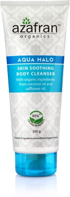 Azafran Organics Aqua Halo Skin Soothing Body Cleanser