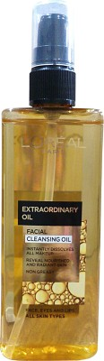 L,Oreal Paris Extraordinary Facial Cleansing Oil(150 ml)