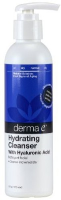 Derma E Natural Bodycare Hyaluronic Hydrating Cleanser, 6-Ounce