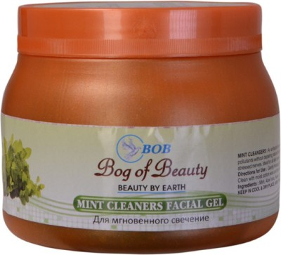 Bog Of Beauty Mint Cleanser Gel