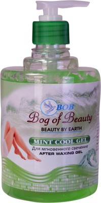 Bog Of Beauty Mint Cool After Waxing gel