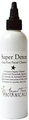 Angel Face Botanicals Super Detox - Organic Deep Pore Facial Cleanser Face Wash