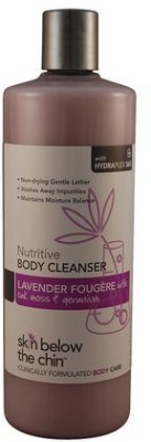 Skin Below the Chin body cleanser-lavender fougere
