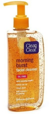 Clean & Clear Morning Burst Facial Cleanser with Bursting Beads