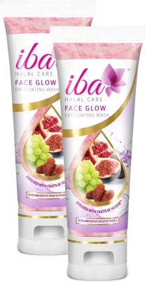 Iba Halal Care Face Glow Exfoliating Wash (Pack of 2)(100 ml)