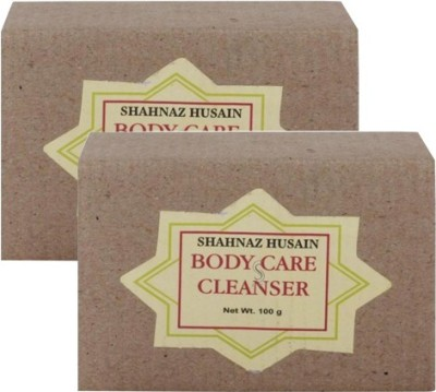 Shahnaz Husain Natural Body Care Cleanser OOD Soap-Pack of 2