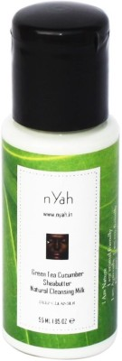 Nyah Green Tea Cucumber Sheabutter Cleansing Milk