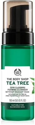 The Body Shop Tea Tree Skin Clearing Foaming Cleanser(150 ml)