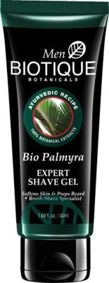 Biotique Bio Palmyra ( Expert Shave Gel Softens Skin & Preps Beard 50ml)