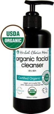 Herbal Choice Mari organic facial cleanser dry skin