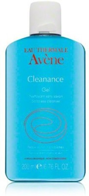 Avene eau thermale cleanance soapless gel cleanser for oily and blemish-prone sensitive skin