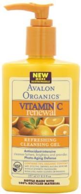 Avalon Organics vitamin c renewal, facial cleanser