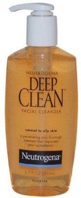 Neutrogena Deep Clean Facial Cleanser, Normal to Oily Skin