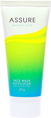 Assure Natural Pure Exfoliator Face Wash