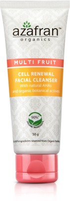 Azafran Organics Multi Fruit Cell Renewal Facial Cleanser