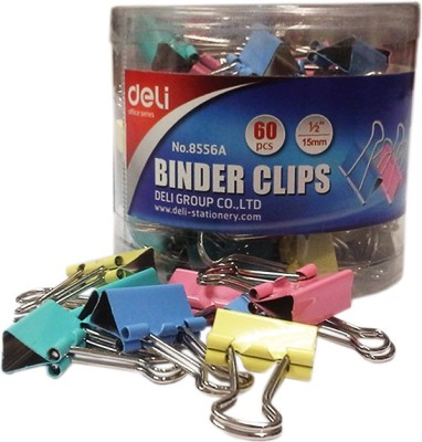 Deli Clips Small Brass Plated Binder Clip