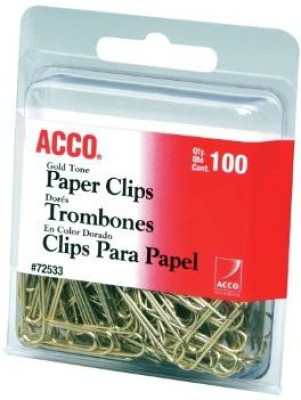 ACCO Brands Small Steel Paper Clip