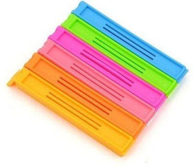 Shopo Smart Small Plastic Bag Clip(Set of 6, Multicolor)