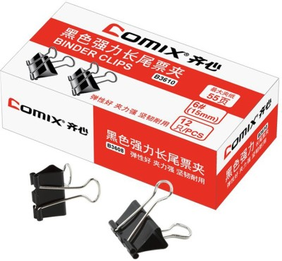 Comix Office Small Metal Binder Clips