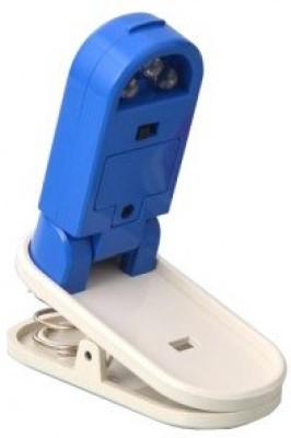 Divinext Smart Small Plastic Paper Clip(Set of 1, Blue)